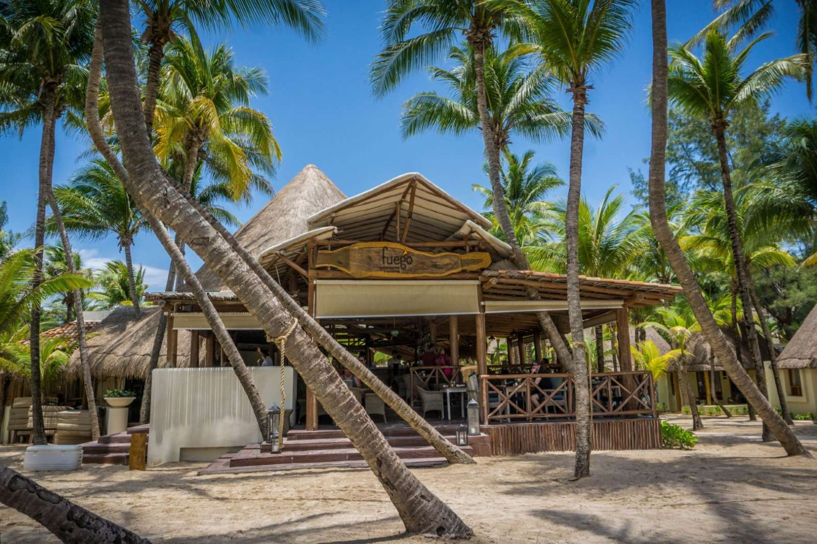 Fuego restaurant at Mahekal Beach Resort