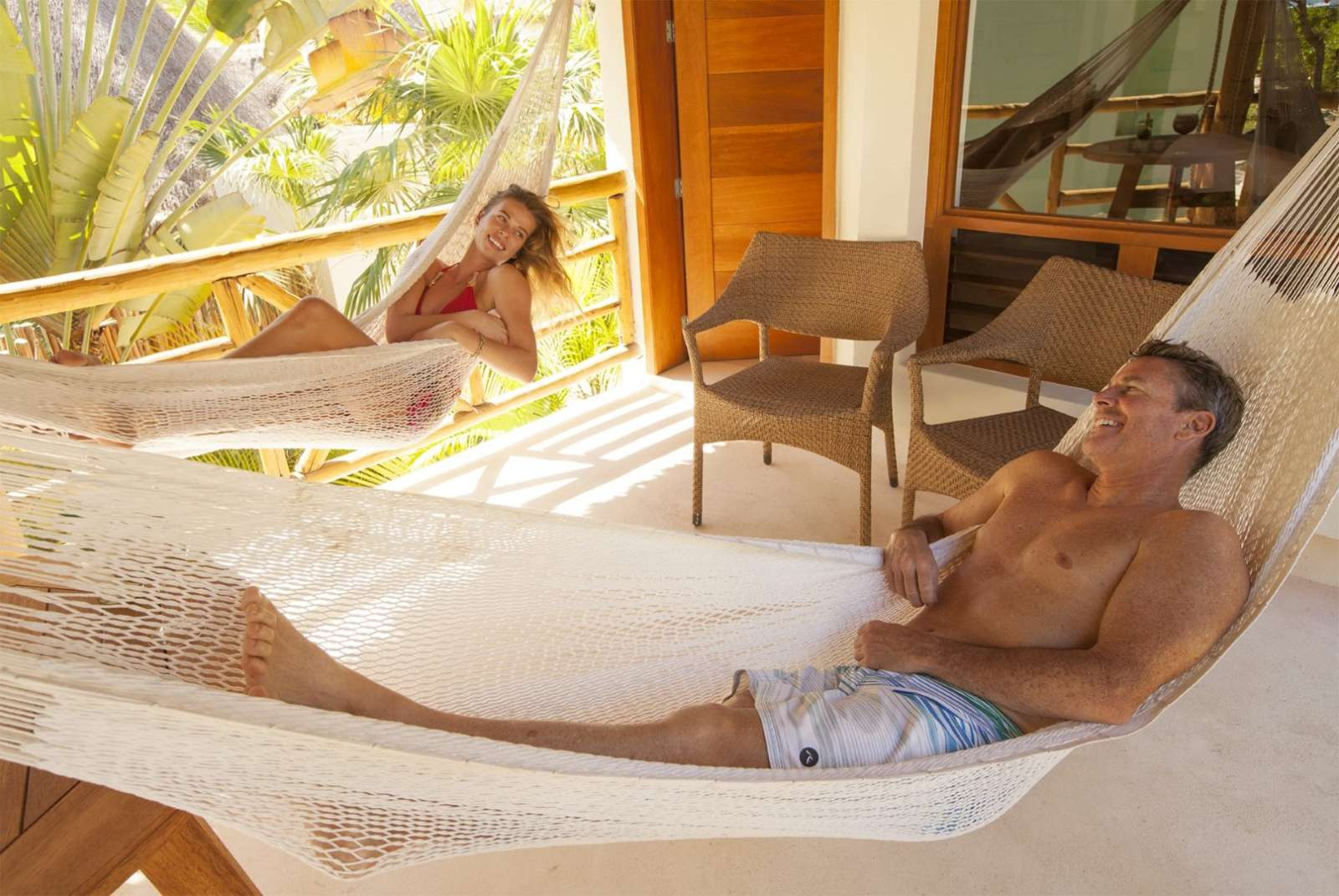 Hammocks at Mahekal Beach Resort