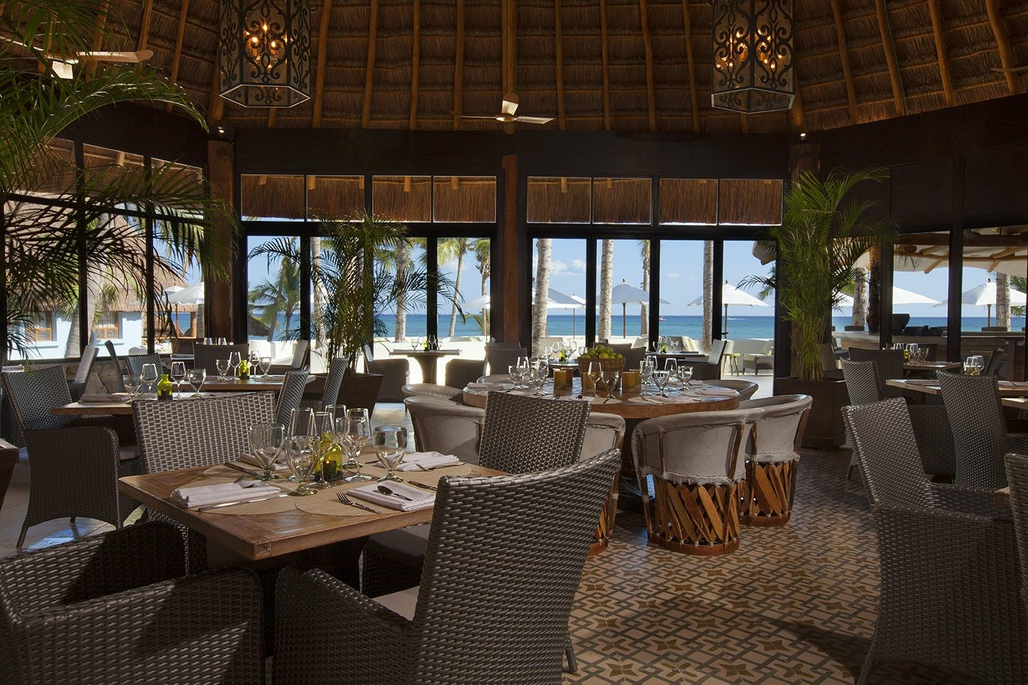 Restaurant at Mahekal Beach Resort