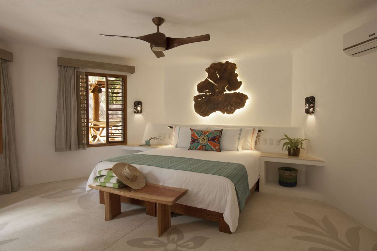 Double room at Mahekal Beach Resort