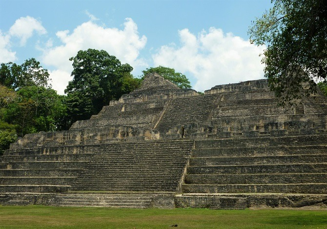 Caracol's main temple, the tallest building in Belize
