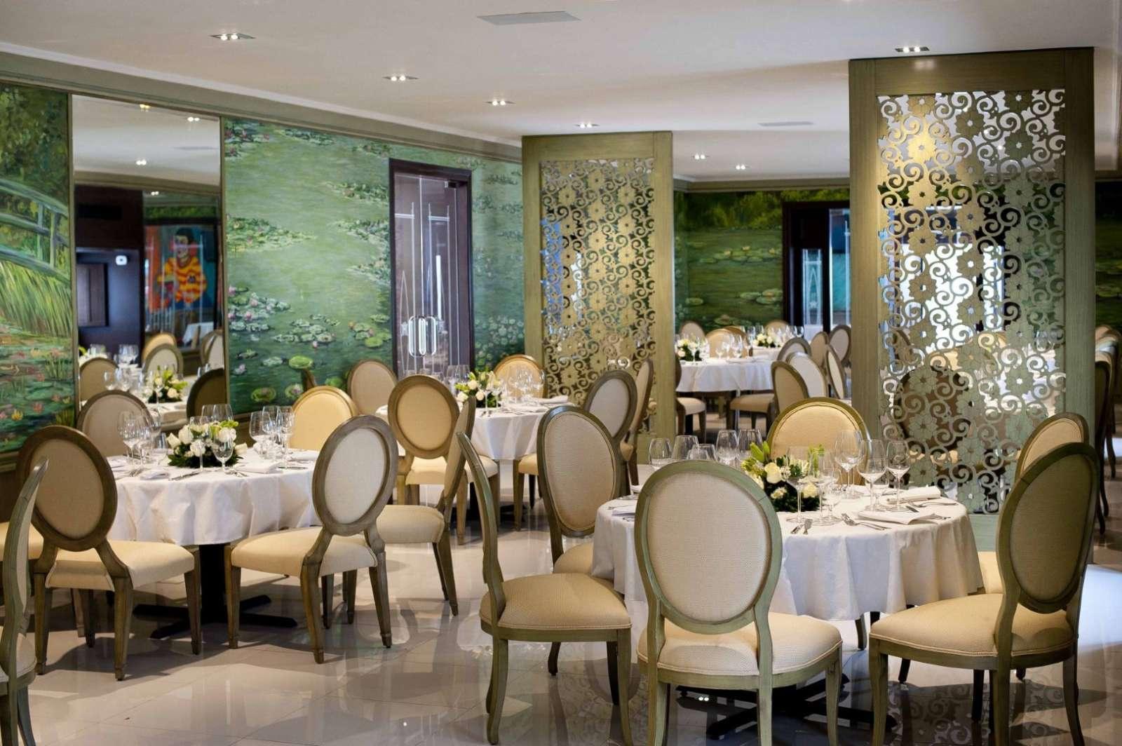 Restaurant at hotel Mansion Merida