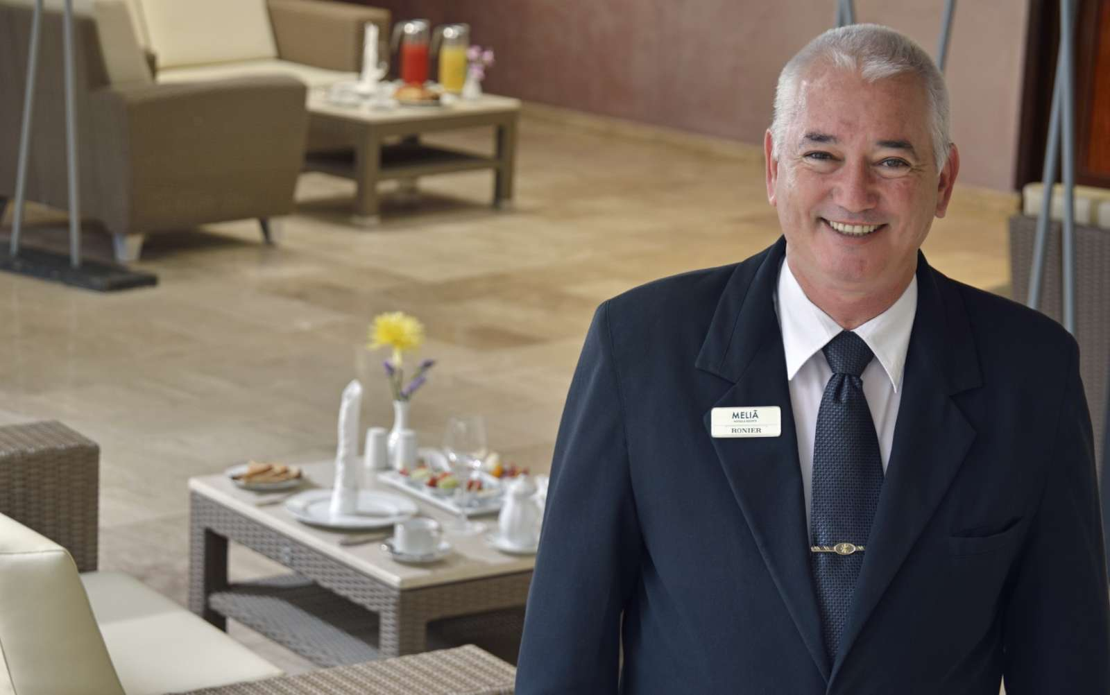 Concierge at Melia Buenavista
