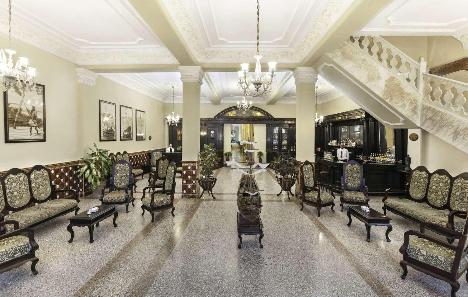 Lobby of Melia Colon in Camaguey