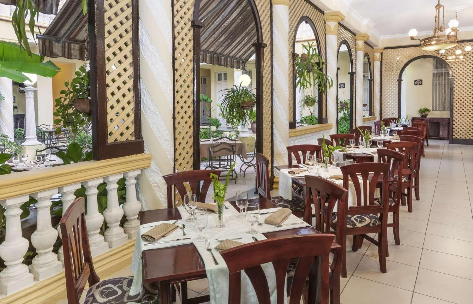 Restaurant at Melia Colon in Camaguey