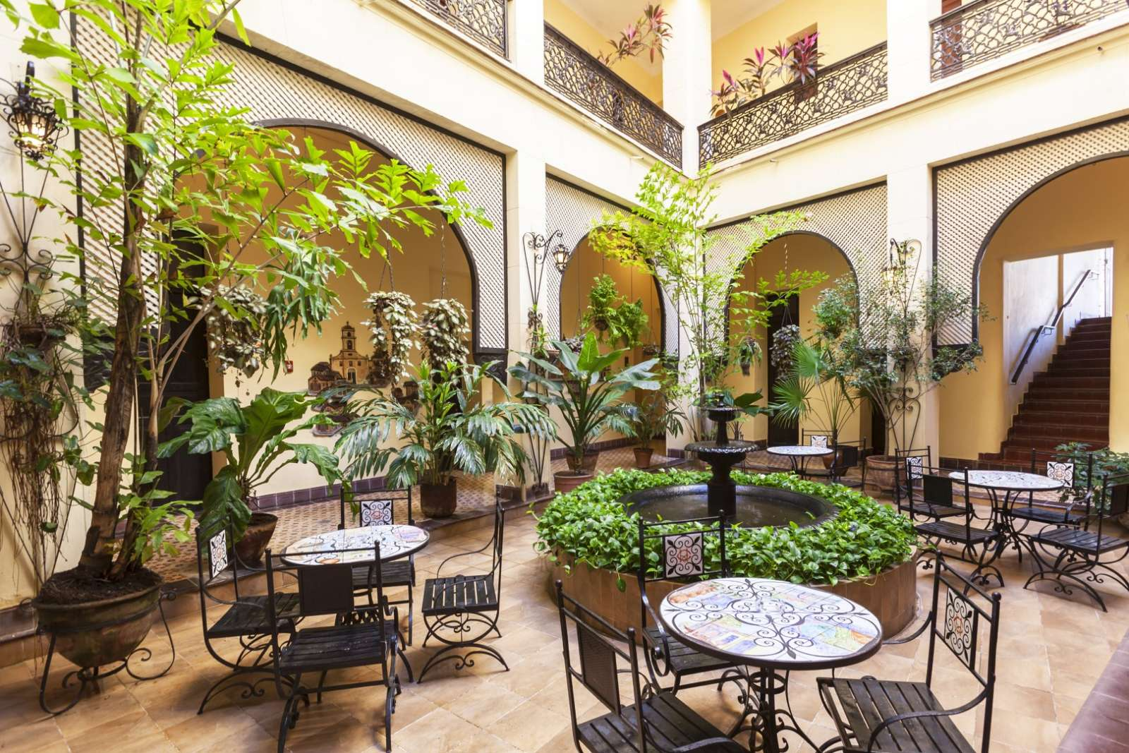 Courtyard at Melia Gran Camaguey