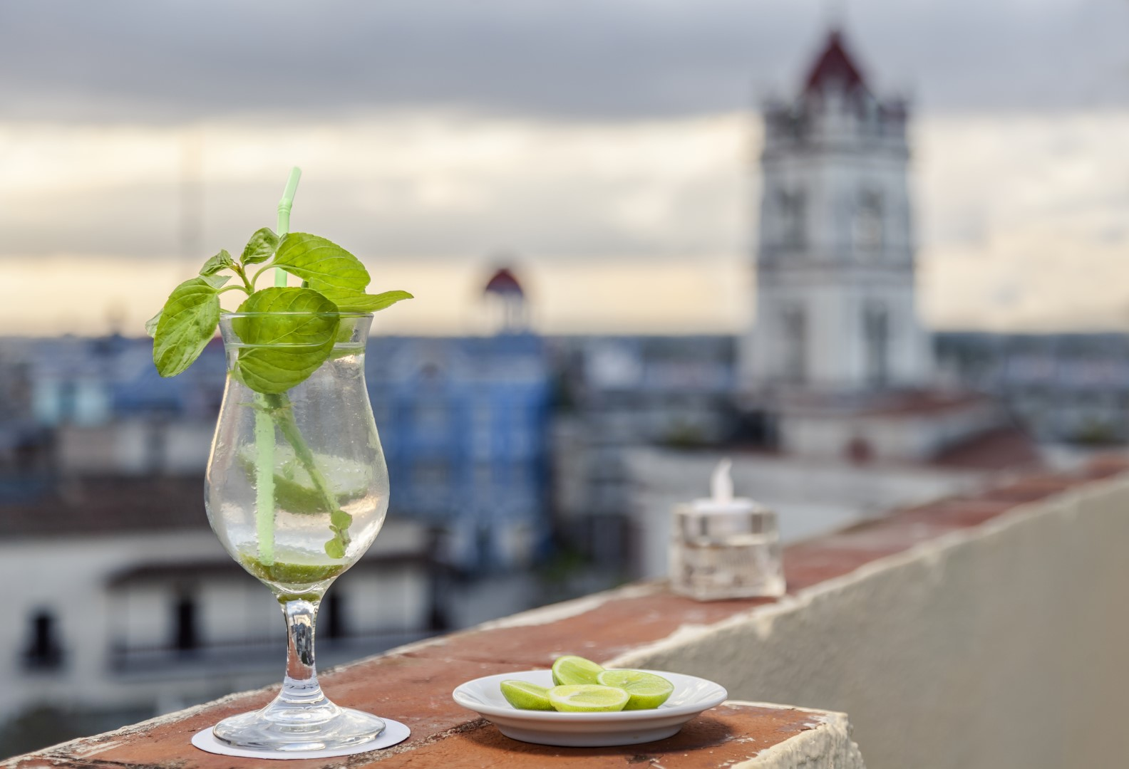 Rooftop bar at Melia Gran Camaguey