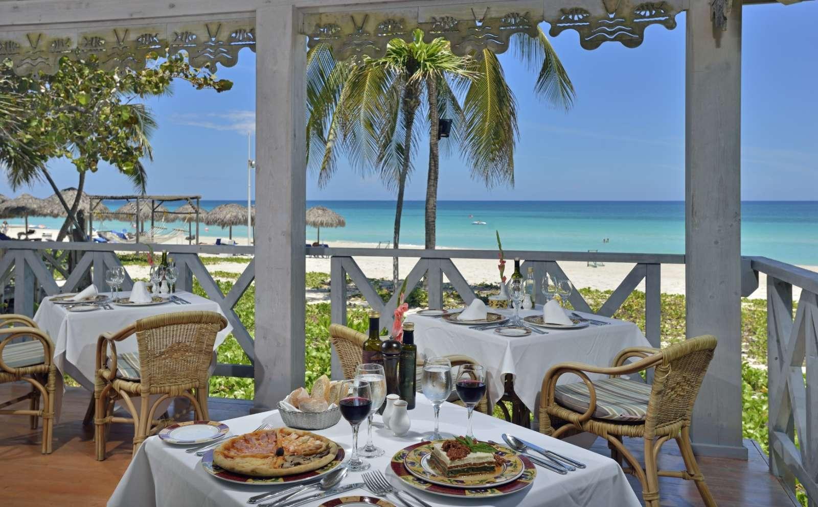 Melia Las Americas Beachfront Restaurant