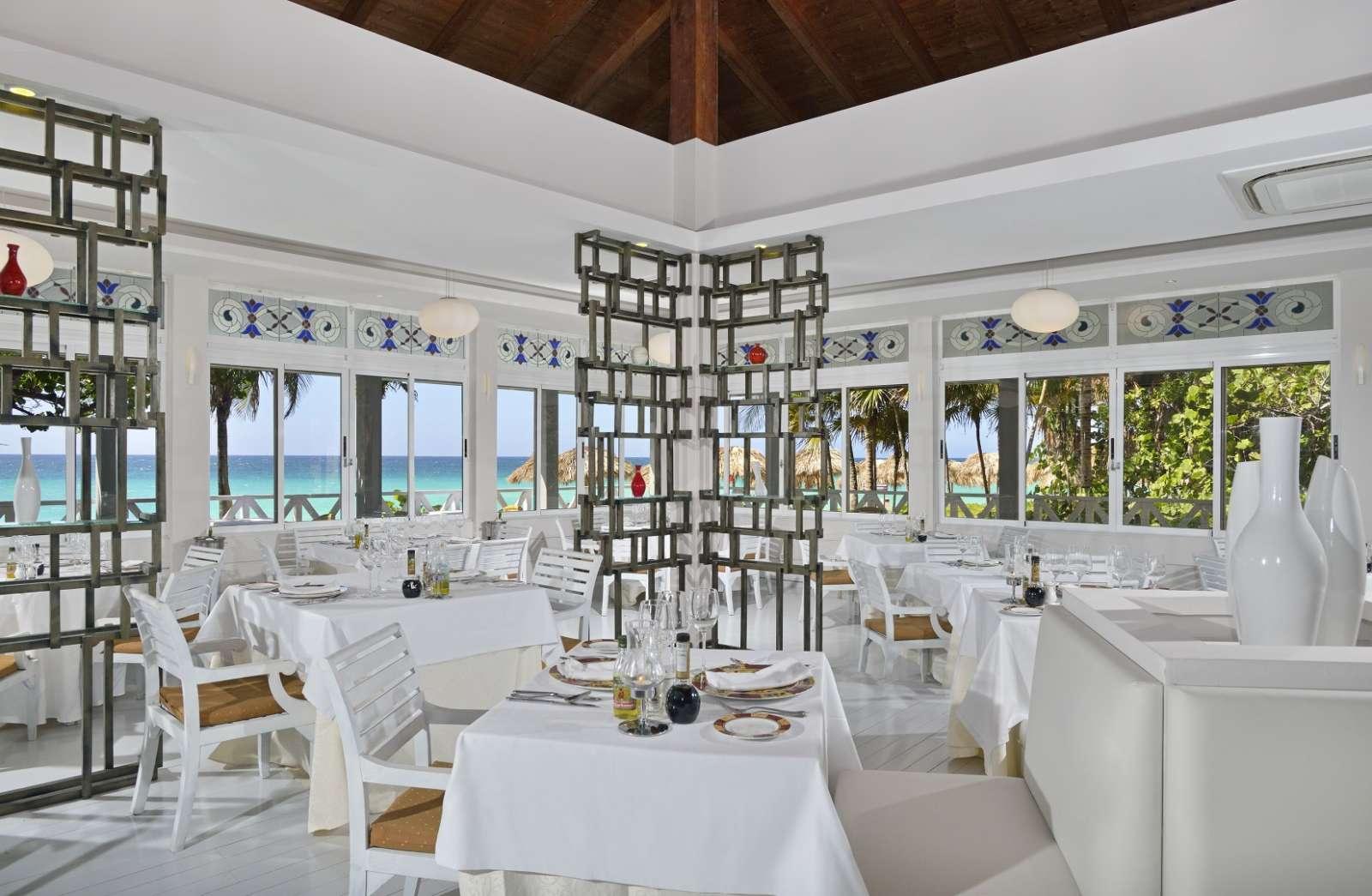 Mediterranean restaurant at Melia Las Americas