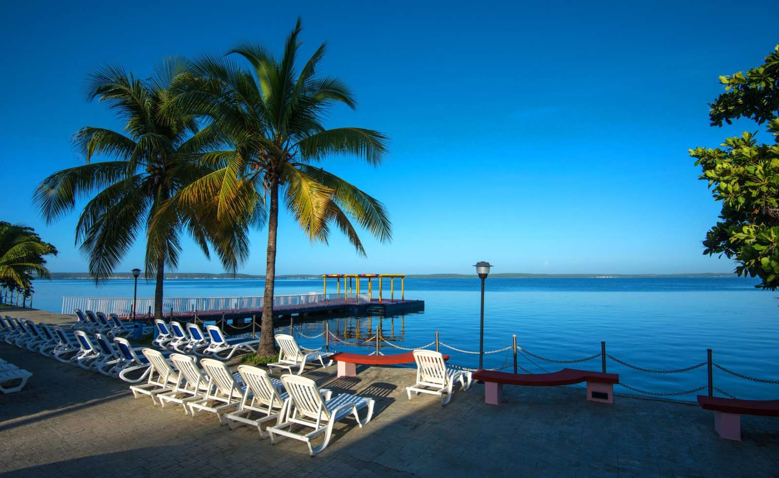 Bay view at Melia Jagua in Cienfuegos
