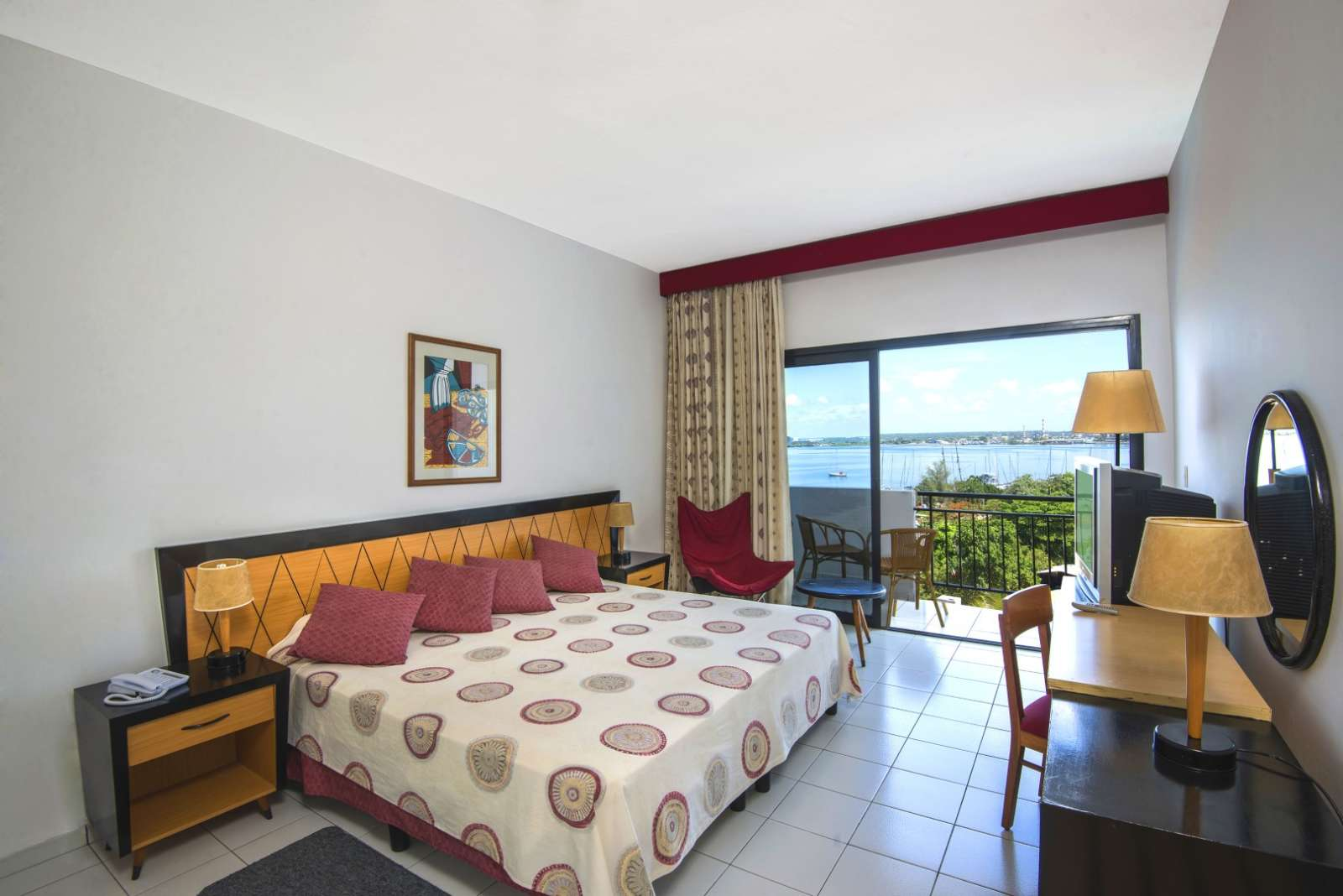 Double room with bay view at Melia Jagua in Cienfuegos