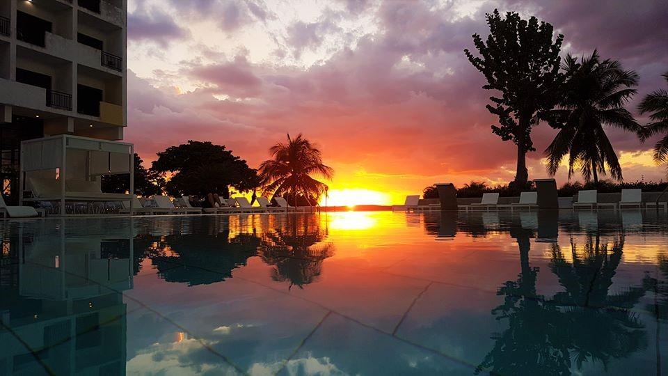 Sunset at Melia Jagua in Cienfuegos