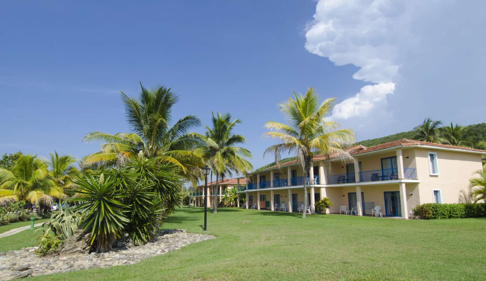 Accommodation block at Memories Jibacoa