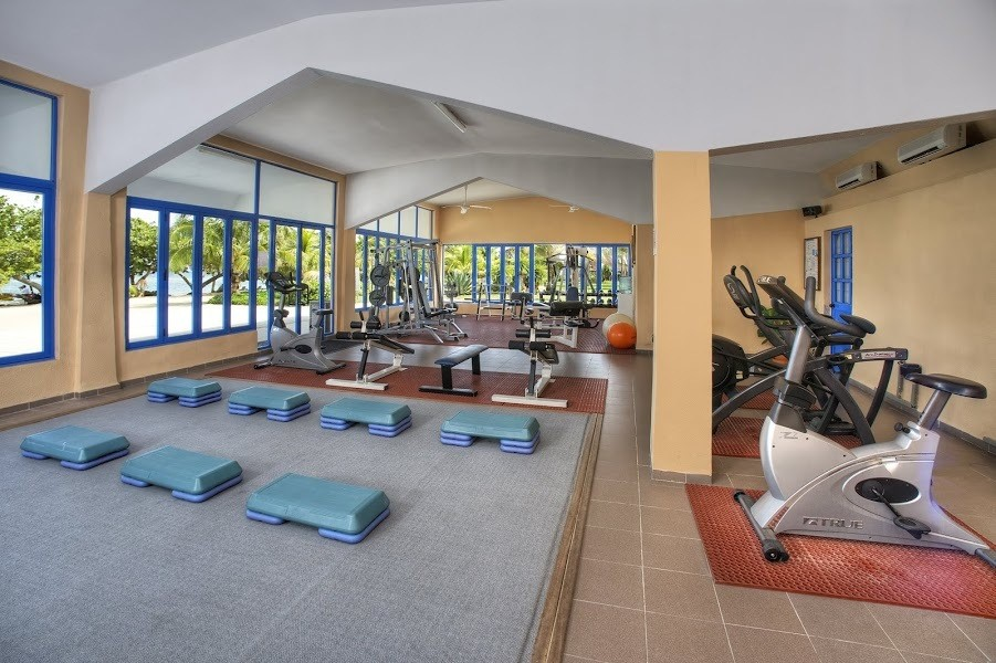 Fitness centre at Memories Jibacoa