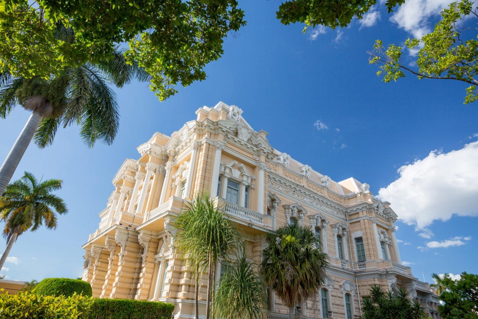Canton Palace in Merida, Mexico