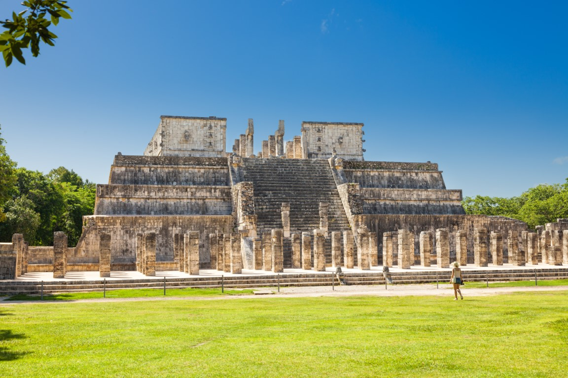 Temple Of Warriors at Chichen Itza