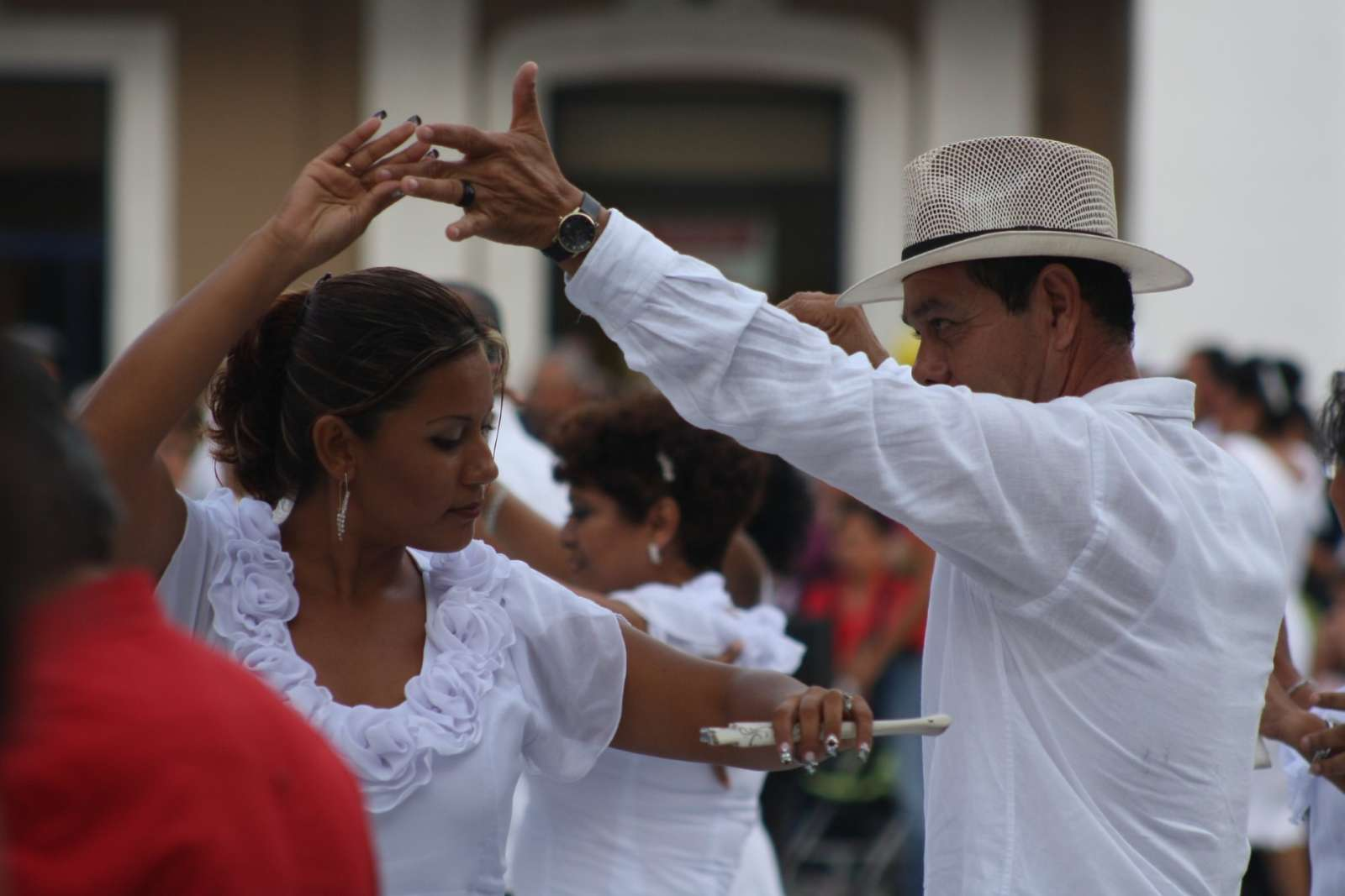 Traditional dance in the Yucatan Peninsula