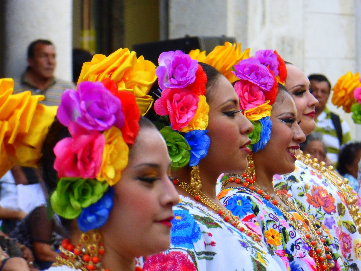 A holiday festival in the Yucatan Peninsula