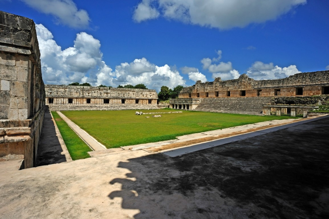 Courtyard at Uxmal