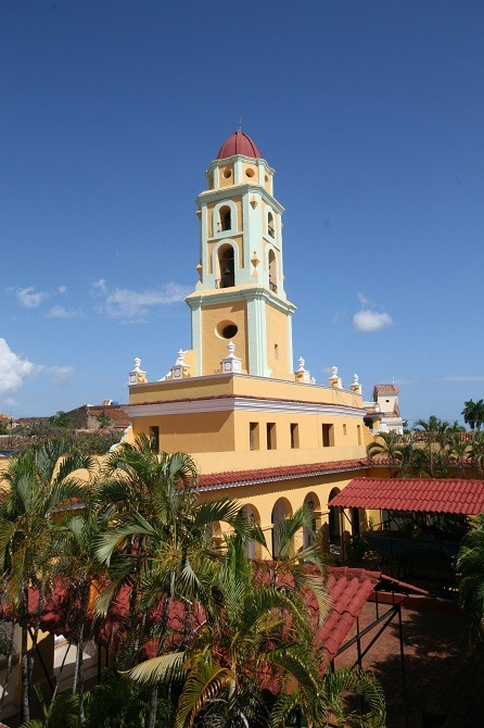 Church tower Trinidad