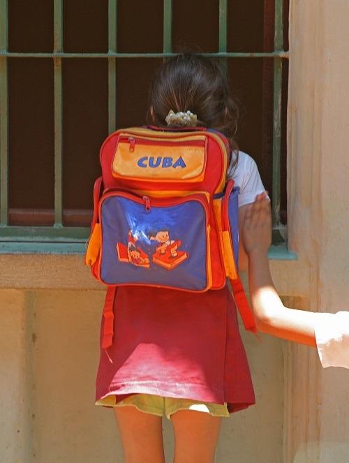 Cuban schoolgirl