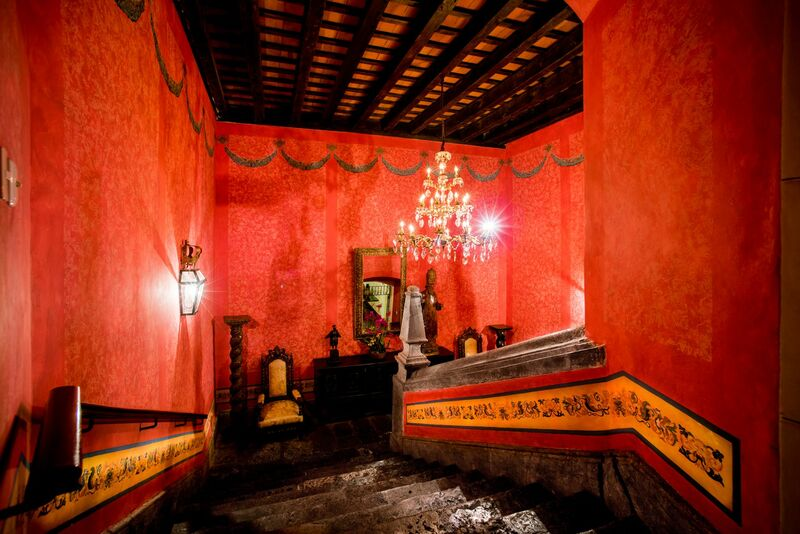 Stairwell at Hotel Palacio de Dona Leonor