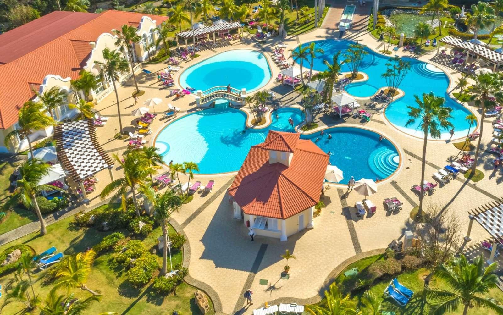 Aerial view of pool at Paradisus Princesa Varadero