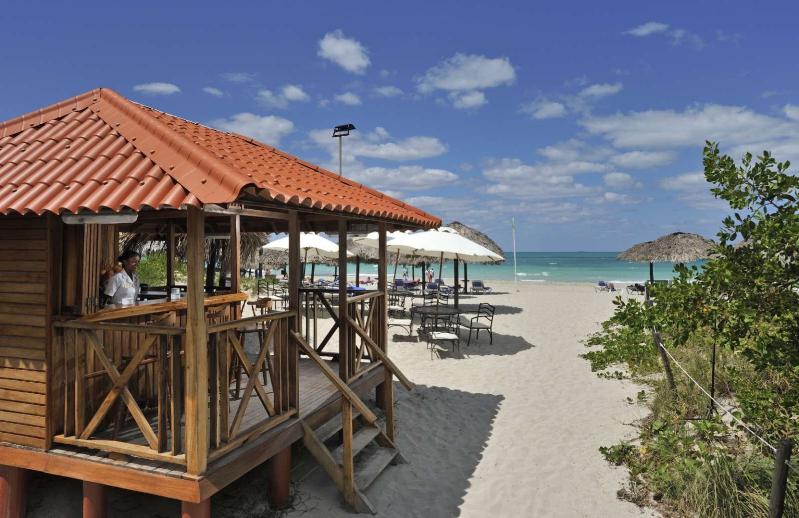 Beach bar at Paradisus Princesa Varadero