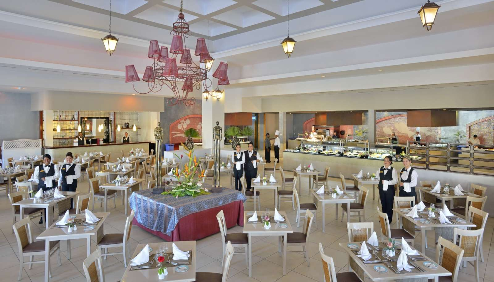 Main buffet restaurant at Paradisus Princesa Varadero