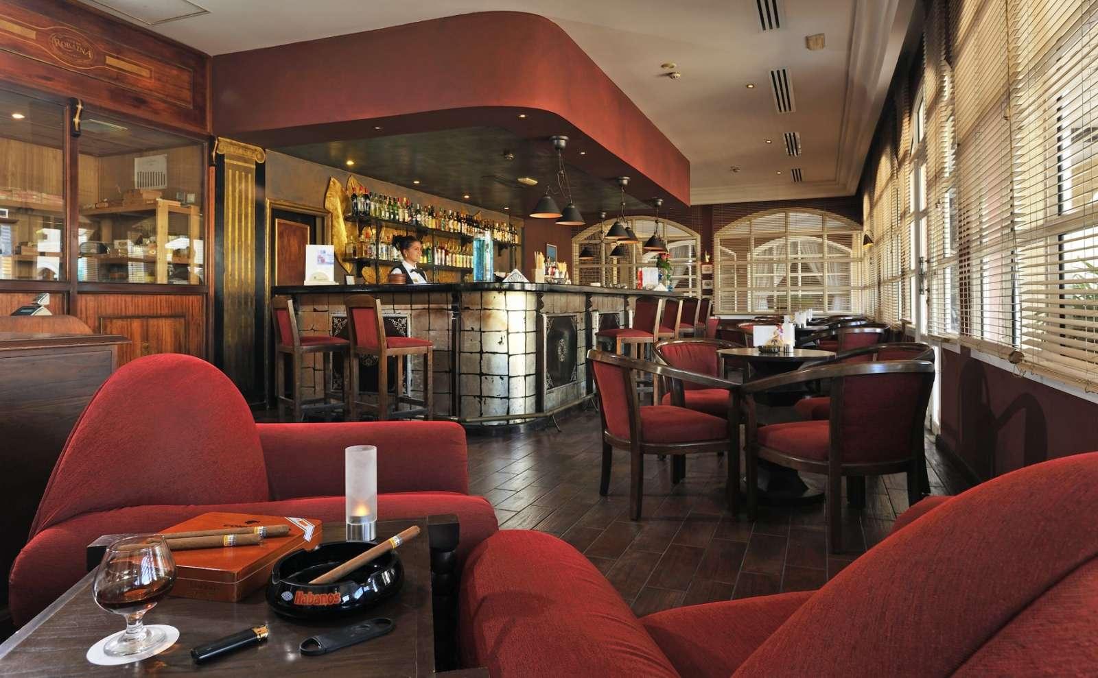 Cigar bar at Paradisus Princesa Varadero