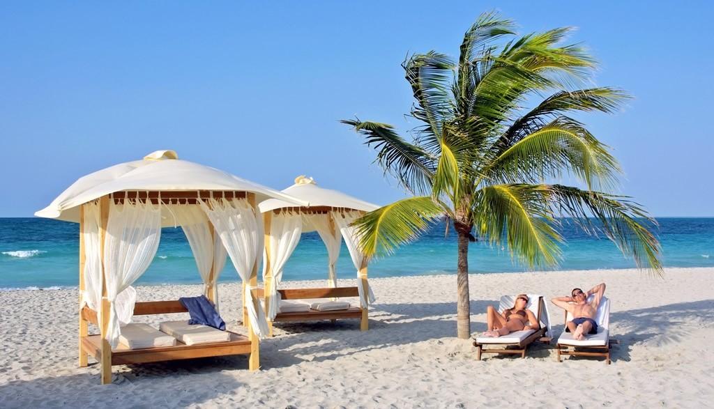 Beach gazebos at Paradisus Princesa Varadero
