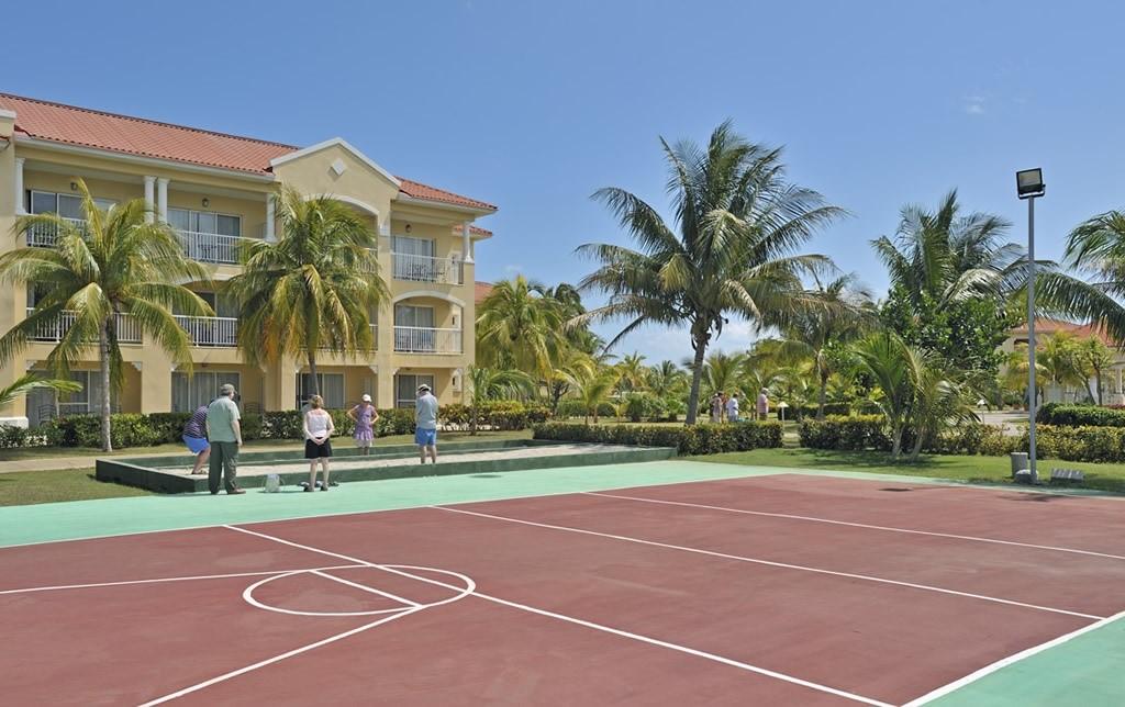 Sports courts at Paradisus Princesa Varadero