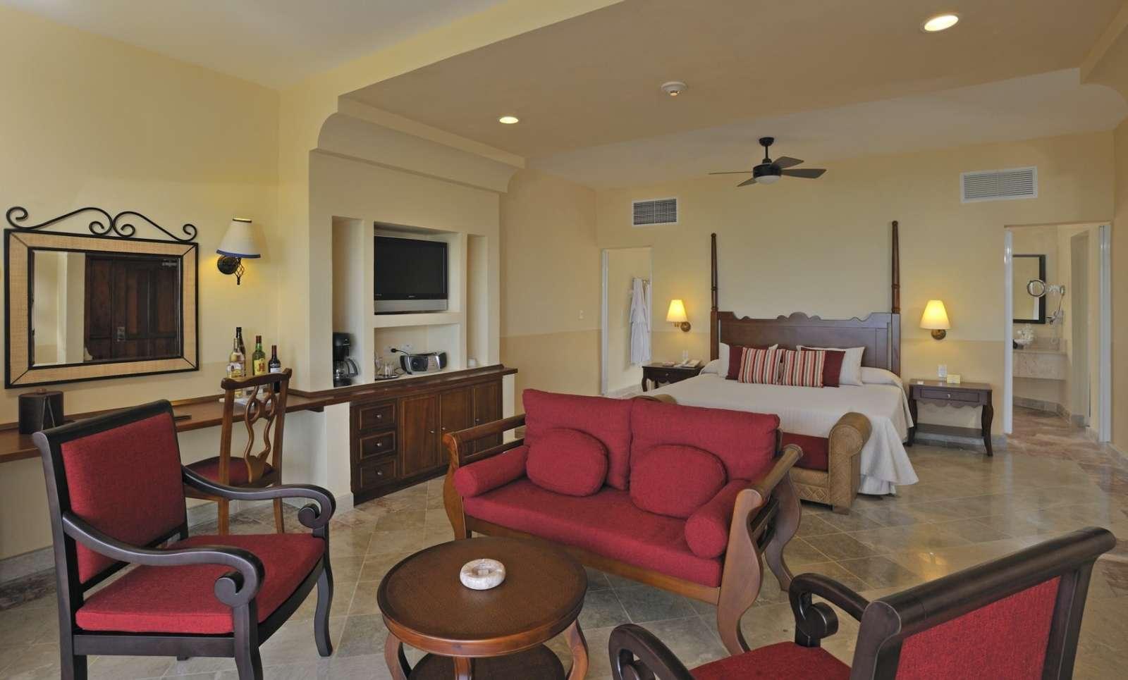 Bedroom at Paradisus Rio de Oro