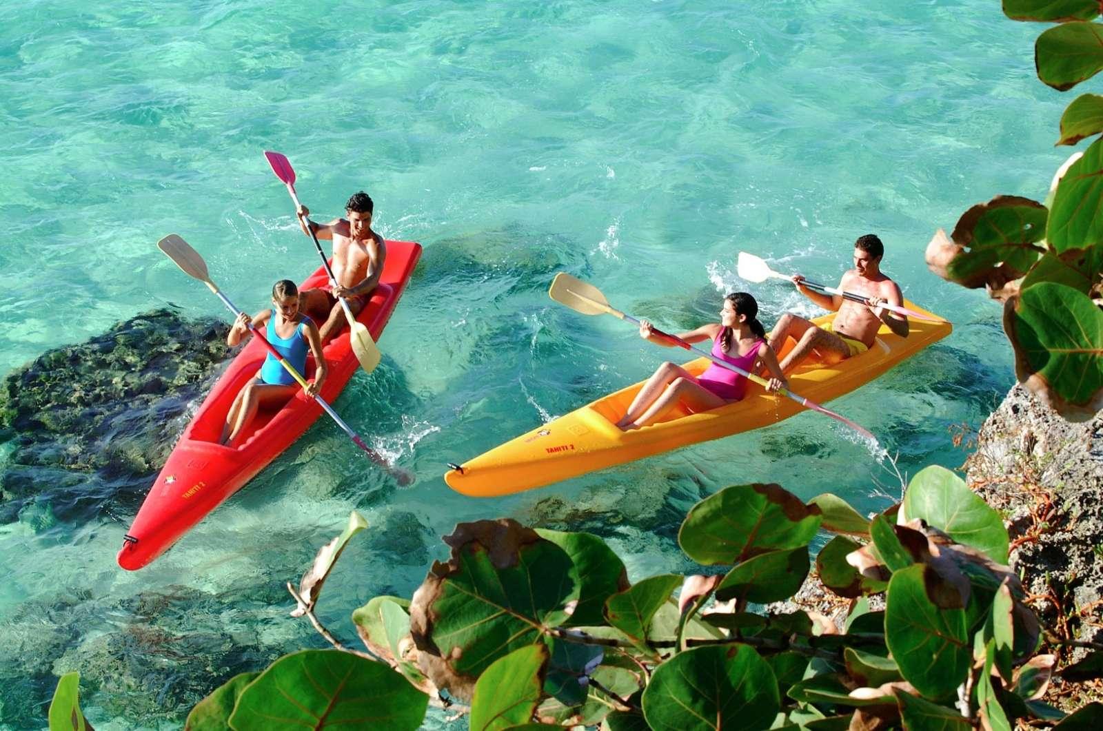 Kayaks at Paradisus Rio de Oro