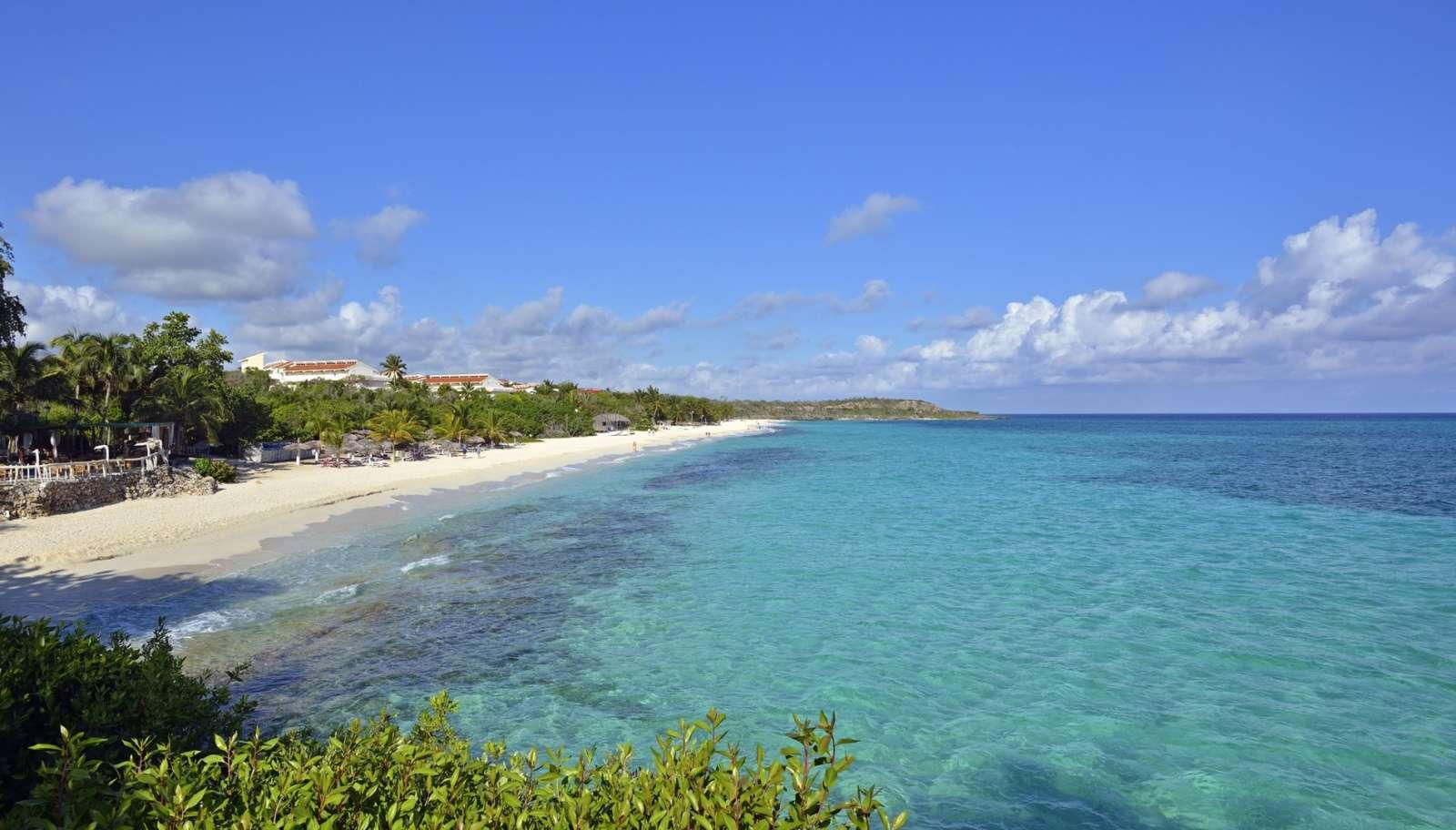 Long beach at Paradisus Rio de Oro