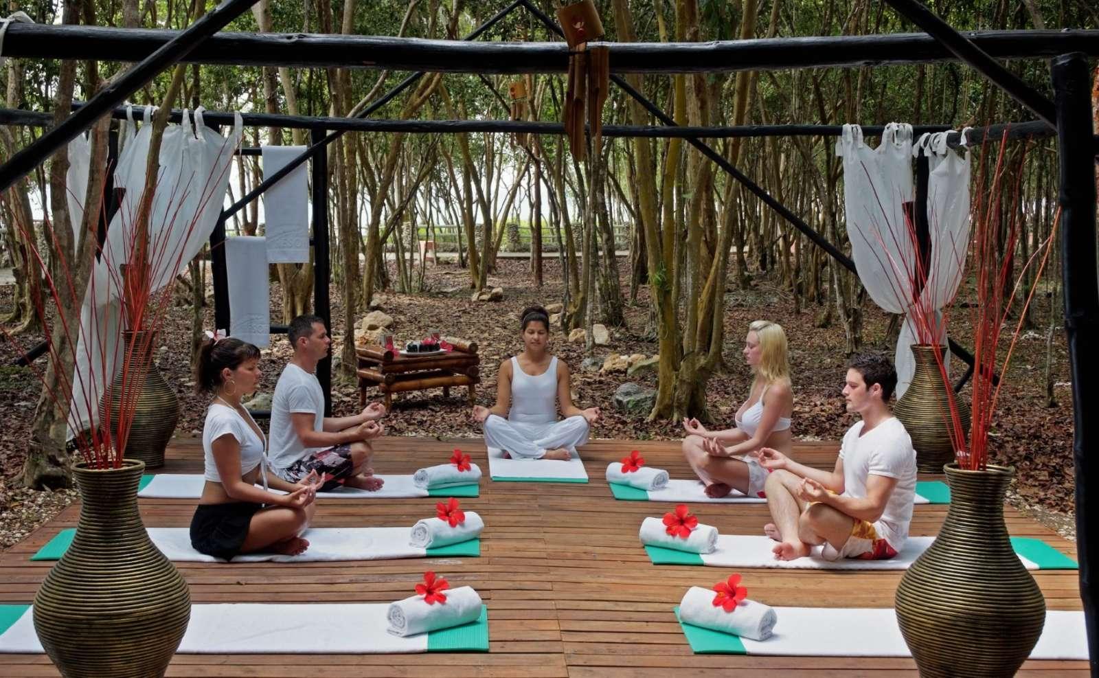 Yoga at the Paradisus Rio de Oro