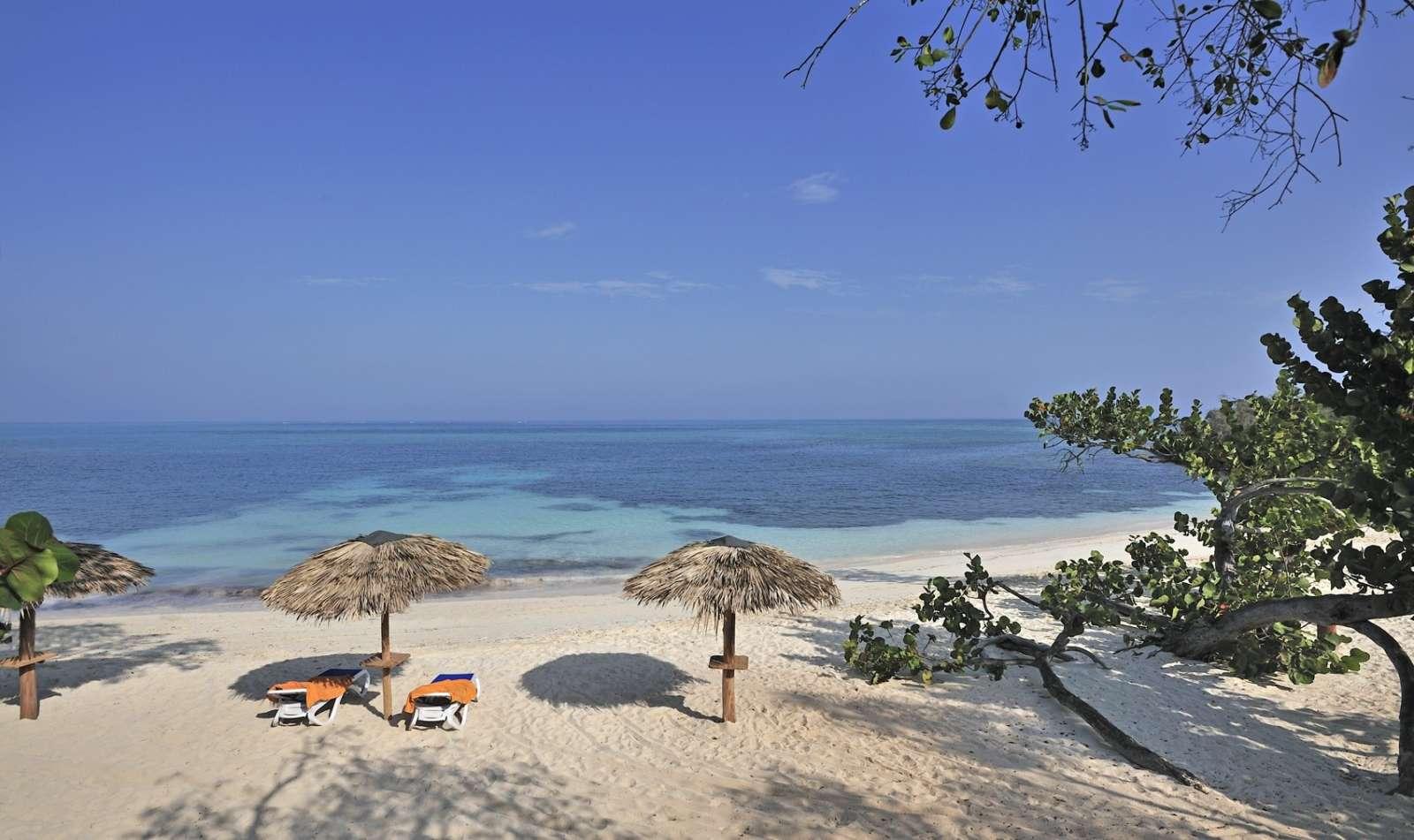 Secluded beach at Paradisus Rio de Oro