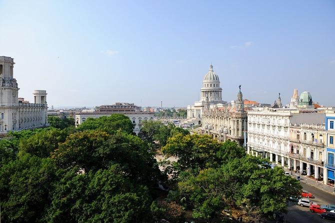 Parque Central Havana