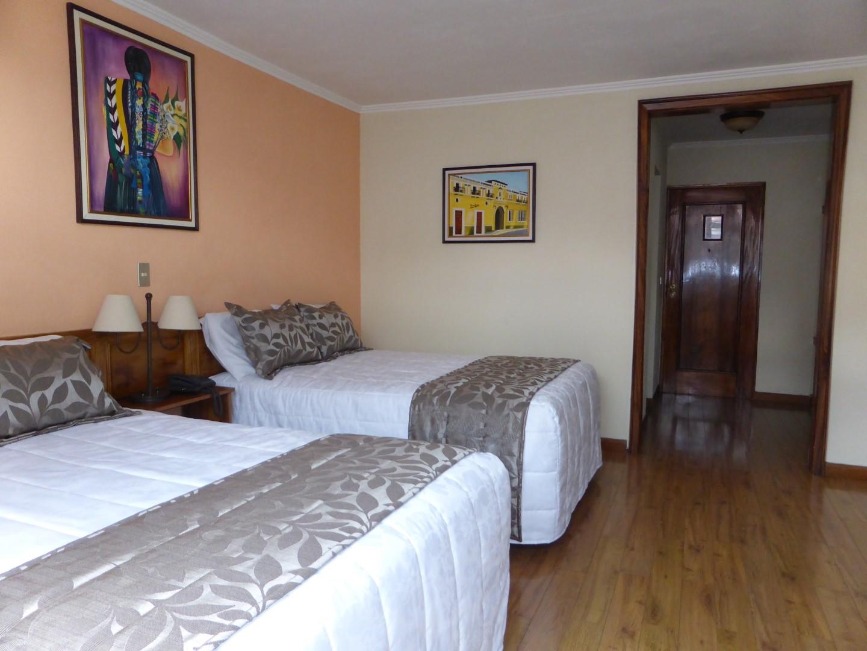 Bedroom at Pension Bonifaz in Quetzaltenango