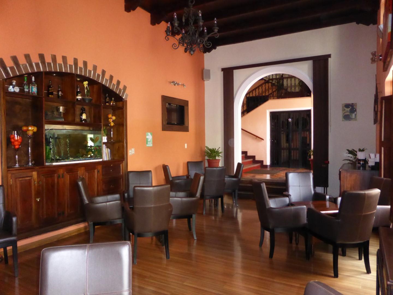 Lounge at Pension Bonifaz in Quetzaltenango
