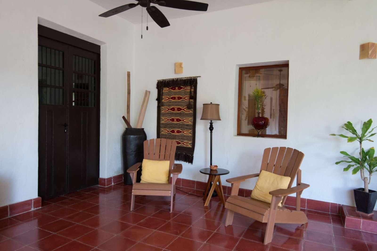 Lobby at Posada San Juan Valladolid