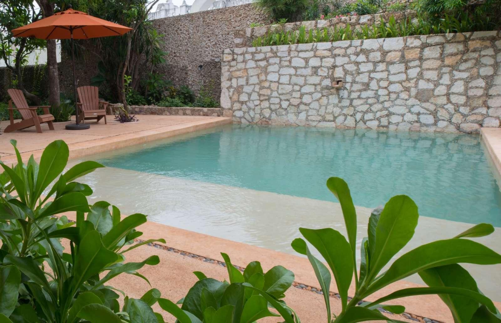 Pool at Posada San Juan Valladolid