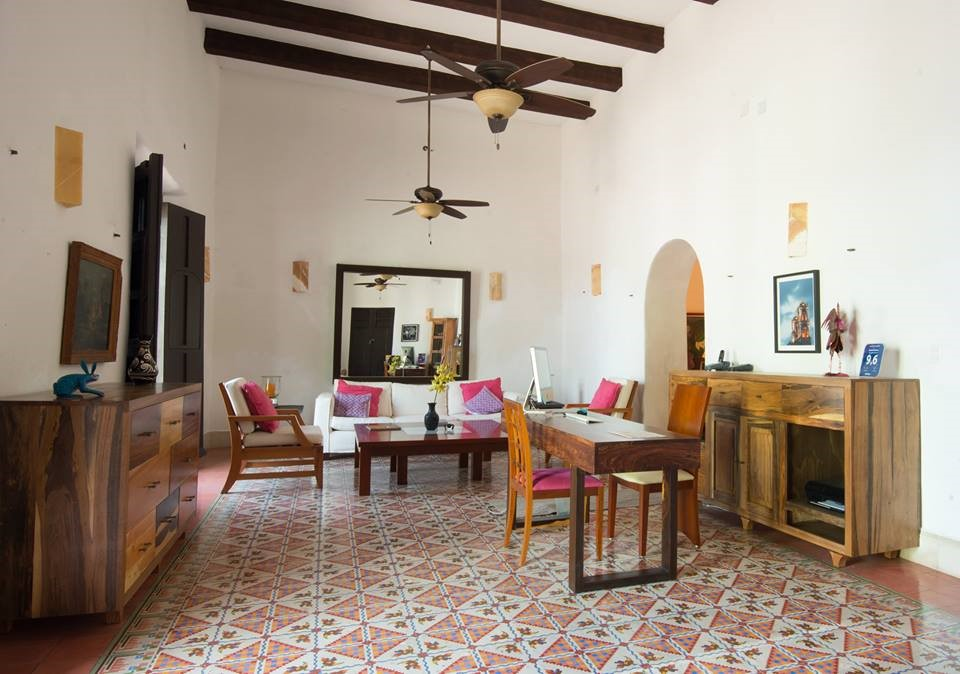 Reception at Posada San Juan Valladolid