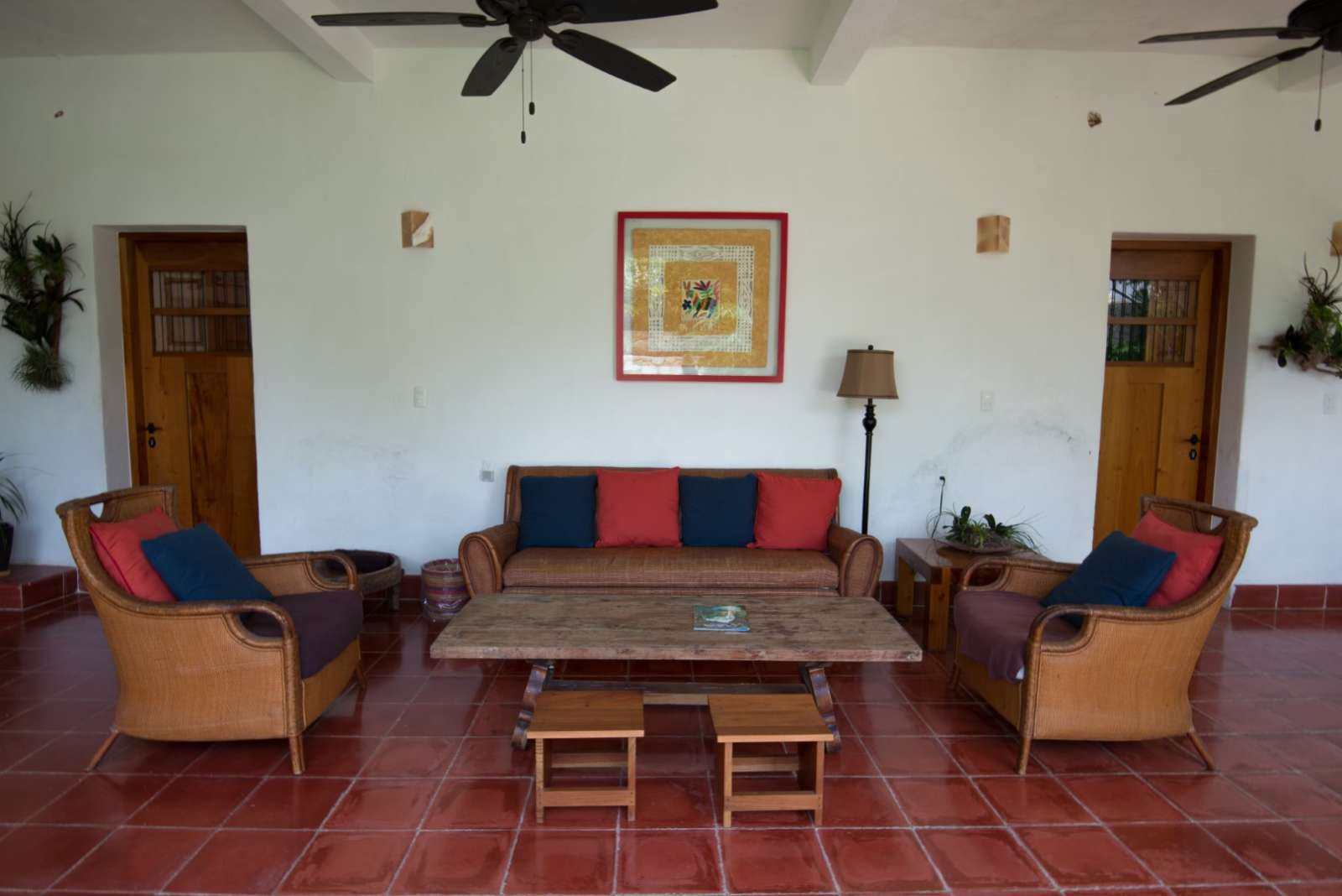Seating area at Posada San Juan Valladolid