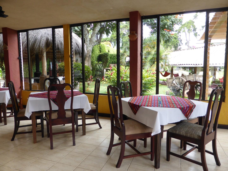 Restaurant at Posada Don Rodrigo, Lake Atitlan