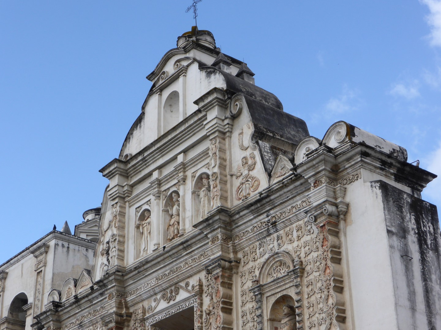 Church tower in Quetzaltenango, Guatemala