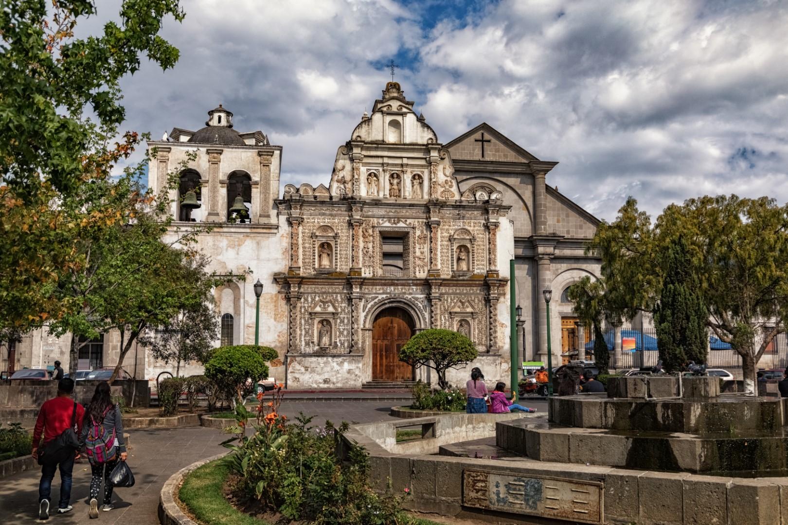 Church in Quetzaltenango, Guatemala