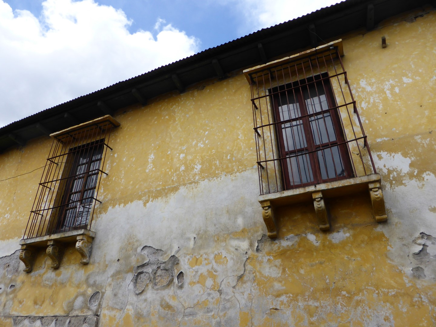 Old building in Quetzaltenango, Guatemala