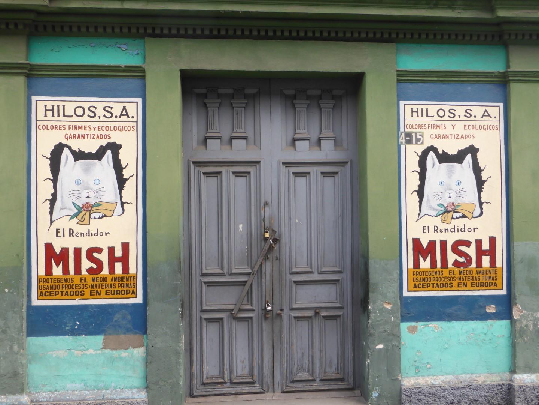 Posters in Quetzaltenango, Guatemala