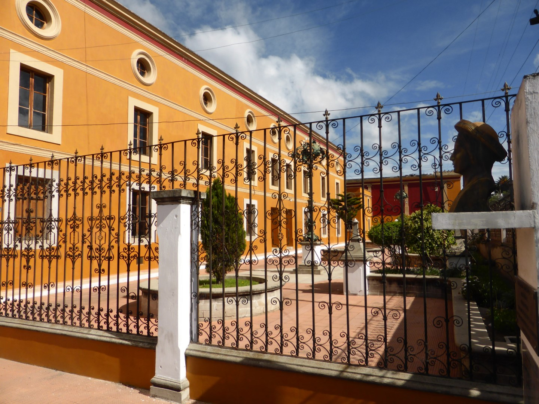 Public building in Quetzaltenango, Guatemala